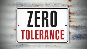 Zero-Tolerance Harassment Policies