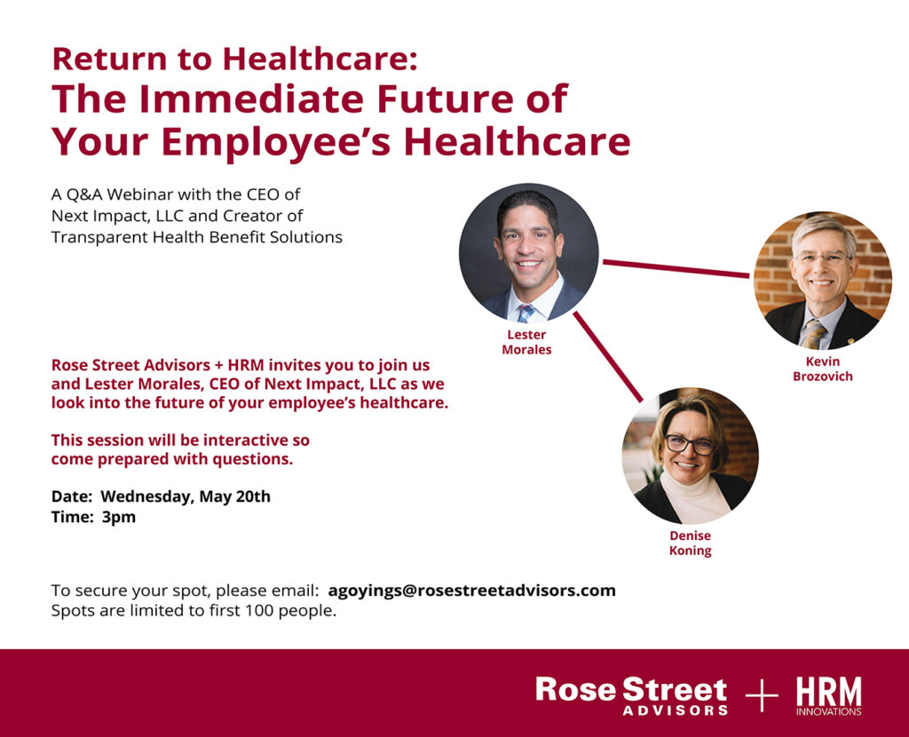 RSA Return to Healthcare: Future of your Employees's Healthcare